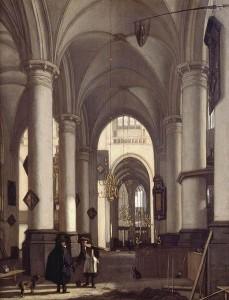 458px-Emanuel_de_Witte,_Intérieur_d'église_gothique