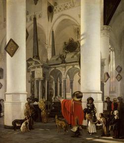 Interieur-de-la-Nieuwe-Kerk-de-Delft_artwork_illustration_infos_plus