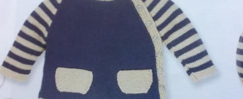 Marinière coton, 3 mois